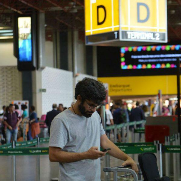Aeroporto passagens aéreas consumidor